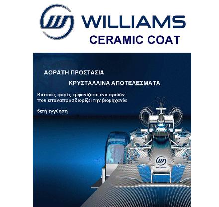 Williams F1 Ceramic Coat